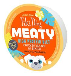 Tiki Pets Dog Mighty Chicken 3 Oz.(Case Of: 8)