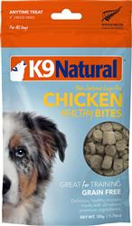 K9 Natural Dog Freeze Dried Bites Chicken 1.76 Oz.