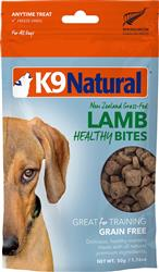 K9 Natural Dog Freeze Dried Bites Lamb 1.76 Oz.