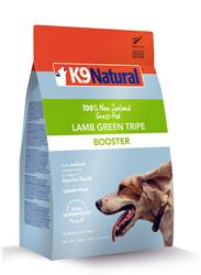 K9 Natural Dog Freeze Dried Booster Lamb Tripe 7 Oz.