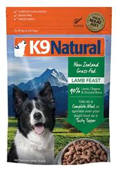 K9 Natural Dog Freeze Dried Lamb 4 Lbs
