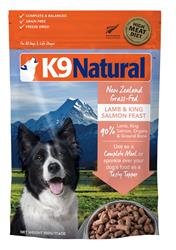 K9 Natural Dog Freeze Dried Lamb Salmon 1.1 Lbs