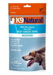 K9 Natural Dog Freeze Dried Topper Beef Tripe 2.6oz.