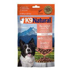 K9 Natural Dog Freeze Dried Topper Lamb Salmon 5 Oz.