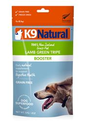 K9 Natural Dog Freeze Dried Topper Lamb Tripe 2 Oz.