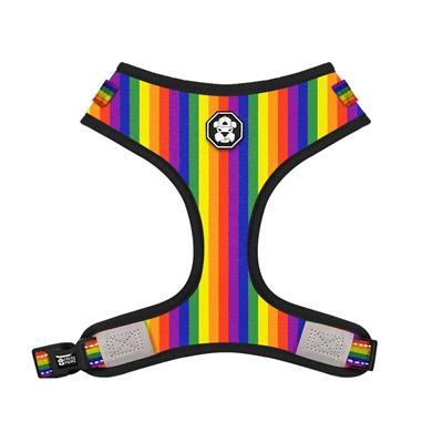 The Pride Rainbow Flag | Adjustable Mesh Harness