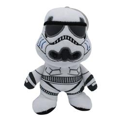 Star Wars Plush Storm Trooper Figure Dog Toy | Soft Star Wars Squeaky Dog Toy | Medium