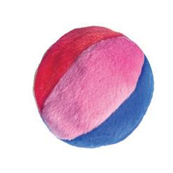 "2.75"" Beach Ball Plush Cat Toy by Kittybelles"