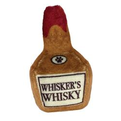 "3.5"" Whisker's Whisky Plush Booze Toy by Kittybelles"