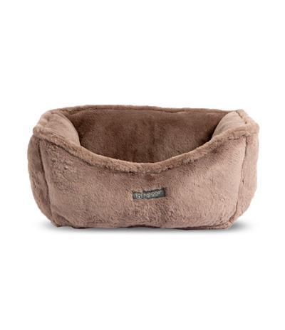 NANDOG CLOUD REVERSIBLE BROWN/MINK TAN DOG PET BED