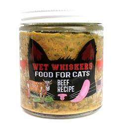 Wet Whiskers - Beef Recipe 4oz. Jars