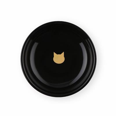 The Black 5th Anniversary Limited Edition  - Raised Cat Food Bowl