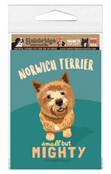 "Norwich Terrier Magnet 3.56"" x 4.75"""