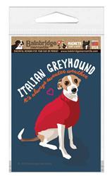"Italian Greyhound Magnet 3.56"" x 4.75"""