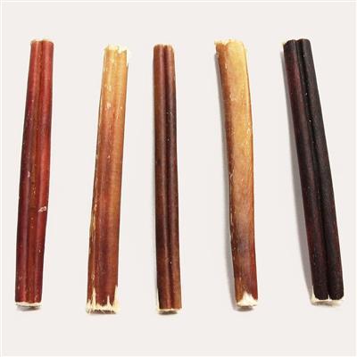 "6"" Odor Free Standard Bully Sticks"