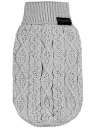 Cable Knit Sweater, Cloud Gray