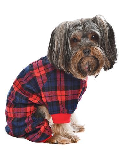 Scottish Pajama, Red/Blue Plaid