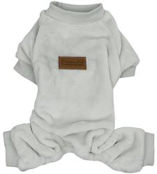 Velour Pajama, Cloud Gray
