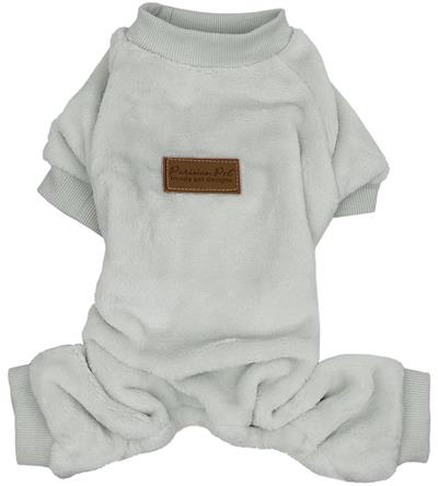 Velour Pajama, Cloud Gray