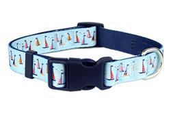 Sail Boats Dog Collar / Leash
