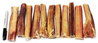"6"" Odor Free Jumbo Bully Sticks"