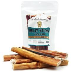 "6"" Odor Free Bully Sticks - 8oz. Value Pack"