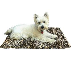 Blanket, Leopard Sand Small