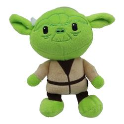 Star Wars Plush Yoda Figure Dog Toy | Soft Star Wars Squeaky Dog Toy | Large
