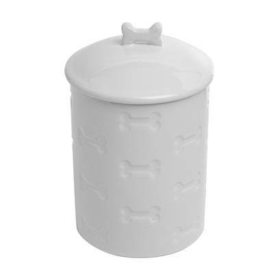 Manor White Treat Jar