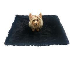 Medium Blanket, Black Powder Puff