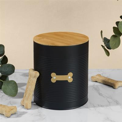 Hector Black Treat Canister
