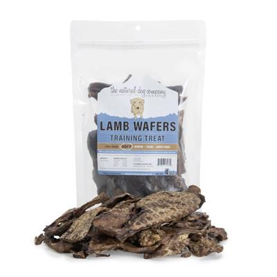 Lamb Lung Wafers (USA) - Individual Bags