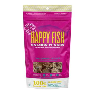 Happy Fish Salmon Flakes 1oz Cat Treats