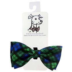 Blackwatch Plaid Bow Tie by Huxley & Kent
