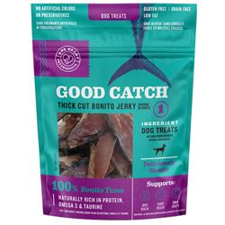 Good Catch Bonito Tuna Thick Cut Jerky 3oz Dog Treats