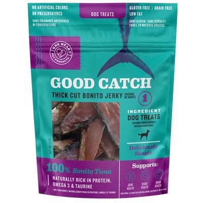 Good Catch Bonito Tuna Thick Cut Jerky 3oz Dog Treats