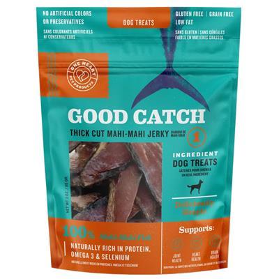 Good Catch Mahi Mahi Thick Cut Jerky 3oz Dog Treats