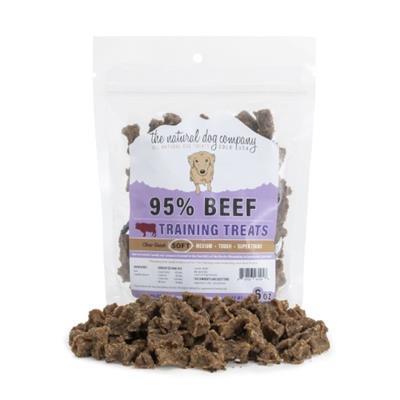 Beef Training Bites (95% Meat) - 6oz Bag
