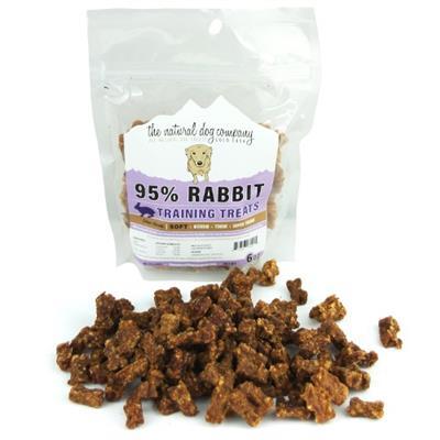 Rabbit Training Bites (95% Meat) - 6oz Bag