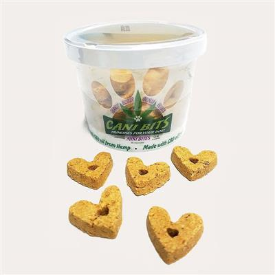 Cani-Bits CBD Dog Treats - Peanut Butter Quinoa, 4oz