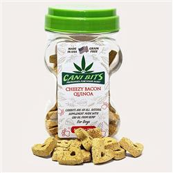 Cani-Bits CBD Dog Treats - Cheezy Bacon Quinoa , 10oz