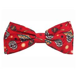 Red Skulls Bow Tie by Huxley & Kent