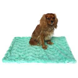 Small Blanket, Seafoam Rosebud