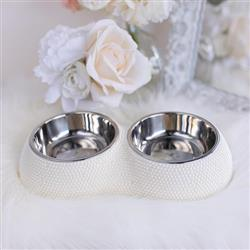 Pearl Dining Dog Bowl