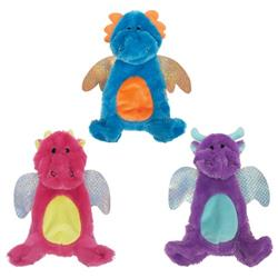 "fouFIT™ Stuffless Crinkle Dragon Toys (13"") - Case of 3"