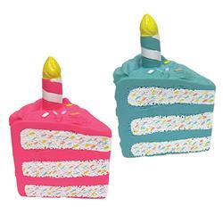 "fouFIT™ Birthday Cake Chew Toy (6"") - Case of 3"