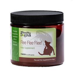 Flee Flea Flee Natural Yeast & Garlic Formula Canine Supplement - 8oz