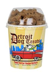 Detroit Dog Peanut Butter Barkers 6.2 oz GF - Cup Biscuits