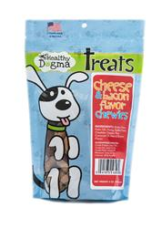 Cheese and Bacon Flavor Chewies - 6oz Bag