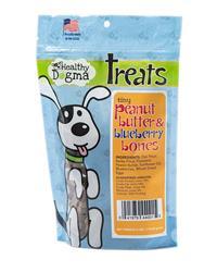 Peanut Butter and Blueberry Tiny Bones - 6oz Bag